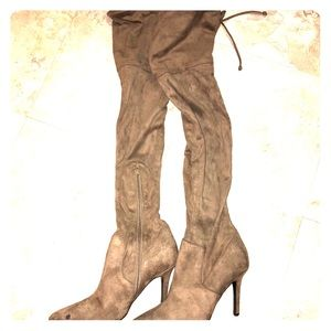 Like NEW Genuine Leather Knee High Boots